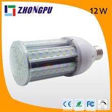 12W E27 led grow corn lights 1200lm SMD 2835 155mm 5000~5500k(Replace 72w mercury lamp )