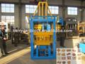 Ladrillos de cemento prensado hidráulico machineqty3-15 adoquines de ladrillo que hace la máquina equipo de concreto
