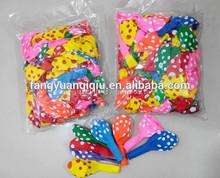 China balloon manufacture polka dot balloon