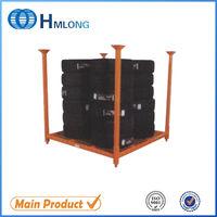 Warehouse portable car metal adjustable tire storage rack