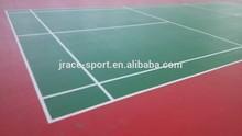 indoor badminton court surface