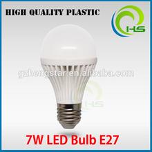 low cost 165 degree e27 base 5w led plastic bu3w 5w 7w led lighting bulb 3/4/5/6/7/10/13/15/18/ Watt , plastic led bulb light