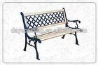 iron garden park bench. set