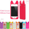 KoKo Cat Ver Cheap Custom Silicone Mobile Phone Case Cover for iPhone 4S 5S Cell Phone Pouch Phone Back Protective Case Cover