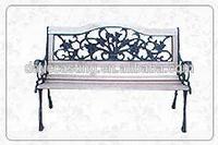antique park bench