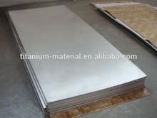 ASTM B265 grade 5 titanium zinc sheet/plate for hho generator
