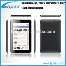 Quad core 7inch HD 1024*600 Dual camera Tablet PC 1GB DDR/8GB HDD