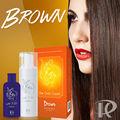 Dark brown roxo da cor do cabelo/marrom cor de spray para cabelo/cor do cabelo coreano