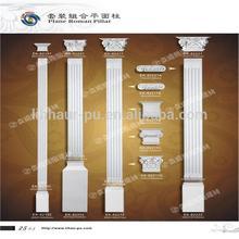 Good polyurethane roman column decorations for home decoration