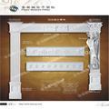 De madera de imitación china poliuretanos plano romana pilar/pu columna capital