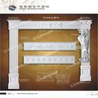 Wood imitation polyurethanes China Plane Roman Pillar/ pu column capital