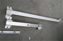 adjustable rear leg for solar mounting