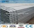 Q195-q235 quadrado galvanizado perfil