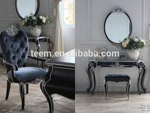 2014 Divany azul âmbar series novo projeto fezes cama chrome bar stool BA-2302