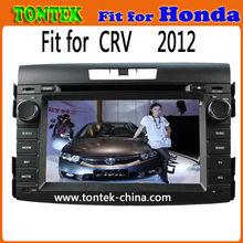 For Honda crv navigation system 2012 car dvd gps with radio BT