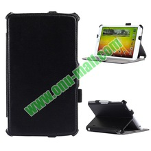 Thermal Styling Leather Case for LG G Pad 8.3 with Elastic Hand Strap