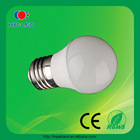Long lifespan energy saving 4w e27 lights led bulb
