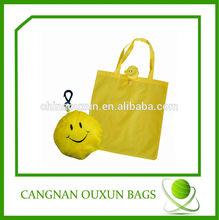 customized nylon ball shopping bag
