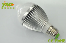 Haute qualité 5 W motion sensor ampoule blanc ampoule avec détecteur de mouvement