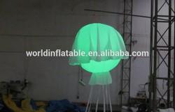 2014 new inflatable lighting jellyfish