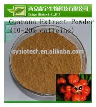 guarana powder , High quality natural plant extract , Guarana Extract Powder - Caffeine 10% ~22%