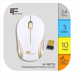 Custom Cheap USB Wireless Mouse Mouse Gamer Laptop W187G