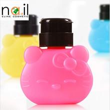 Lovely Pressure Bottle/Nail art/plastic pressure bottle
