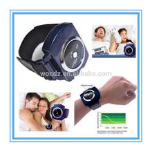 SNORE STOPPER! Digital Therapy Machine Anti-Snoring Wristband Strap