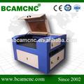 alta precisão máquina de desenho do laser de vidro bcj1390