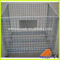 Alambre de metal de los contenedores, alambre de contenedores a granel, galvanizado de malla de alambre de contenedores
