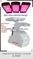 ringiovanimento della pelle ha condotto la terapia della luce della pelle macchina di cura lampada a raggi infrarossi per capelli