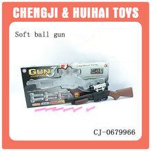 Super boy toy PS soft ball gun plastic army toy gun with telescope