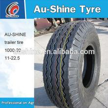China trailer tire supplier 1000-20