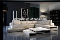italian leather sofa white/artistic leather sofa
