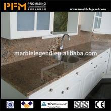 China best quality & good price tiger skin red granite countertop
