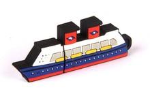 Chinese novel products,Ship shape usb flash drive,Hot sale custom PVC USB