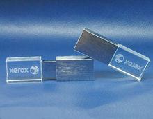 engraving logo crystal usb flash drive