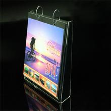 Clear Acrylic Home & Office Calendar Rack