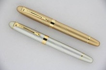 golden luxury aluminum metal pen promotion for officials