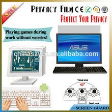 "Black 3m Privacy Film Screen Filter For Lcd/PC/Desktop/Laptop Screen(8'-30"") Hot selling"