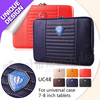 for HP Slate 7 leather case , Europe Fashion Style Simple Zipper Hand Bags For All 7-8 Inch Tablets