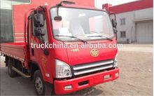 china 4x2 faw lorry transport service
