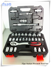 1/2'' Drive car repairing hand tool socket set at home , socket wrench tool set