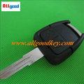 Heißer verkauf auto schlüsselrohlinge für opel 2-tasten-fernbedienung schlüssel shell( hu46) links klinge ohne logo, schlüsselrohlinge großhandel