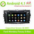 Pure android. 4.1 ford mondeo/focus/s-max autoradio gps avec 3g/wifi,/android.! De bonne qualité!