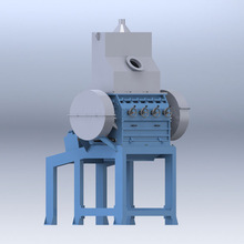 Waste Tire/Rubber Shredding Recycling Machine for sale(1-6mm)
