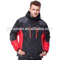 de moda al aire libre transpirable a prueba de agua de esquí de los hombres y el desgaste de nieve