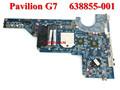 Original pabellón 638855-001 g4 g6 g7 placa base del ordenador portátil la placa del sistema para hp 100%& probado de trabajo perfecto