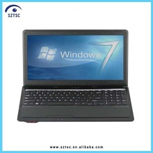 2014 Hot Sale 15 Inch Intel Atom DVD-RW Small Size Laptop