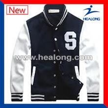 Breathable men's baseball jackets wholesale